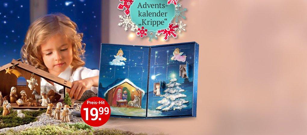 """Adventskalender """"Krippe"""""""
