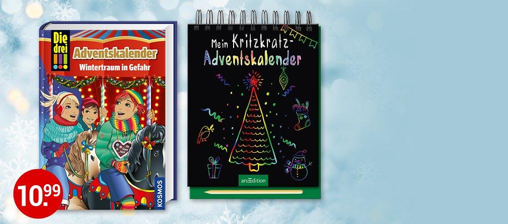 Tolle Adventskalender - So macht das Warten auf Weihnachten Spaß!