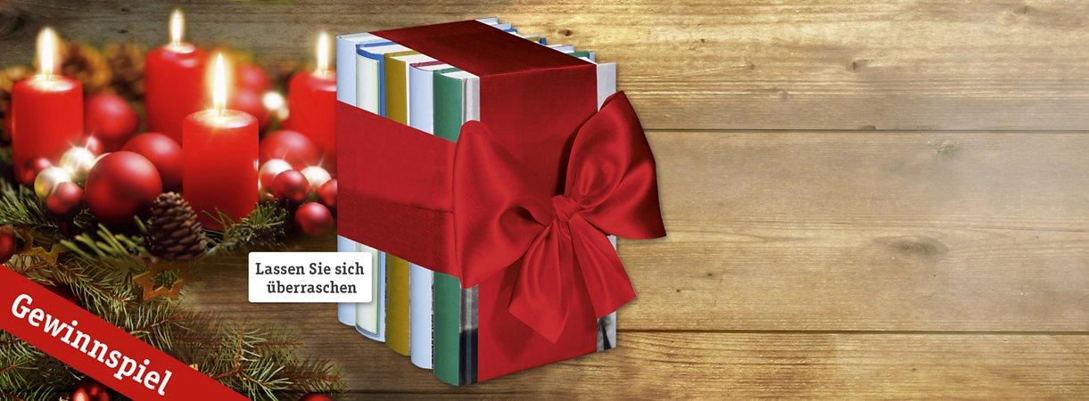 Auch dieses Jahr gibt es wieder tolle Bücherpakete zu Gewinnen