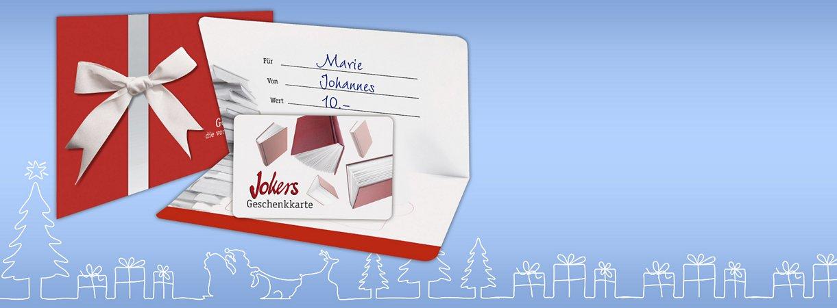 Jokers Geschenkkarte