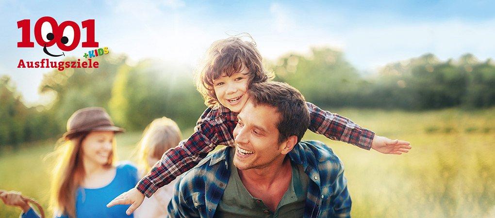 Willkommen bei 1001-Ausflugsziele - Der Marktführer für Familien-Ausflugsziele in der Schweiz!