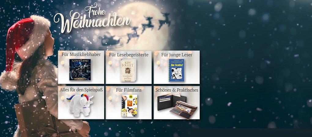 Geschenkideen zu Weihnachten in der Weihnachtswelt von Weltbildch