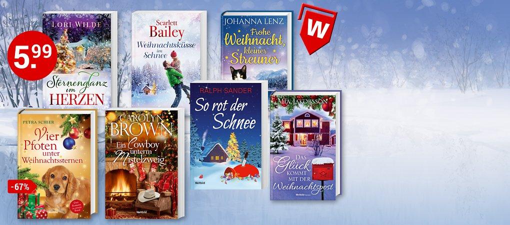 Winterliche Geschichten für stimmungsvolle Lesestunden