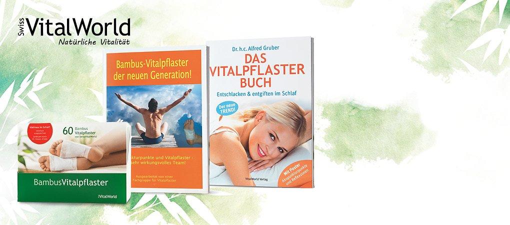 Vitalpflaster & Ratgeberbücher