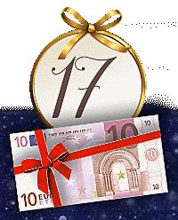 Nur noch heute: 10.- € Gutschein als Weihnachtsbonus für Sie!