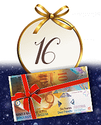 Heute im Online-Adventskalender: Fr. 10.- Weihnachtsbonus