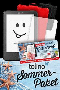 Das tolino Sommer-Paket: Jetzt zugreifen und sparen!