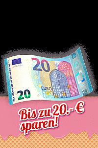NUR MEHR HEUTE: Preisschmelze: Bis zu 20.- € Rabatt sichern!