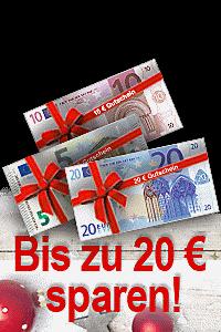 Sparen Sie jetzt bis zu 20 € auf Ihren Einkauf - Jetzt Gutschein einlösen!