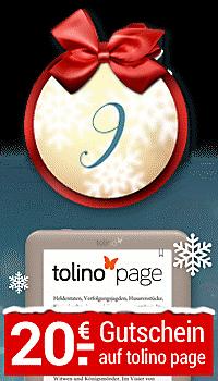 Türchen 9 ist geöffnet - 20 € Gutschein auf den tolino page!