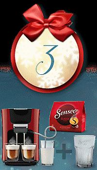 Preiszauber: 3x Senseo Kaffeepadmaschine für je nur 10.- € - nur heute!
