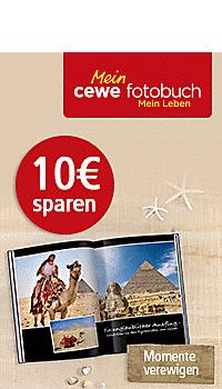 10.- € sparen: Momente verewigen mit dem CEWE FOTOBUCH*