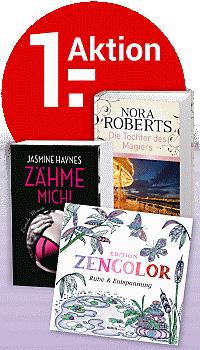 Nur bis 23.04.: Kennenlern-Bände nur 1.- € - portofrei!