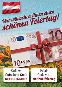 Sichern Sie sich Ihren 10 € Gutschein!