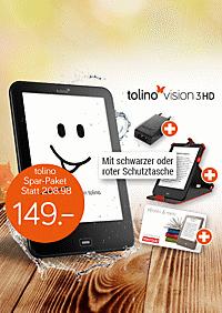 tolino vision 3 HD Spar-Paket