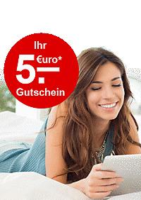 Newsletter abonnieren, 5.- € Gutschein kassieren!