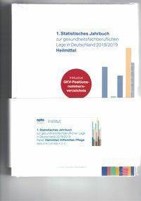 1. Statistisches Jahrbuch zur gesundheitsfachberuflichen Lage in Deutschland 2018/2019 Heilmittel, Hilfsmittel, Pflege (Paket) -  pdf epub