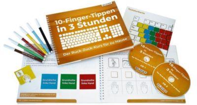 10-Finger-Tippen in 3 Stunden - der Ruck-Zuck-Kurs für zu Hause, m. 2 Audio-CDs - Anja Schmid |