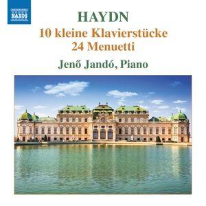 10 Kleine Klavierstücke/24 Menuetti, Jeno Jando