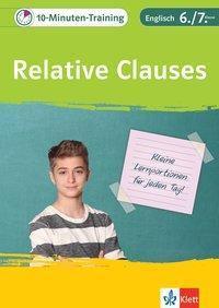 10-Minuten-Training Relative Clauses -  pdf epub