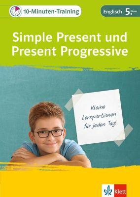 10-Minuten-Training Simple Present und Present Progressive -  pdf epub