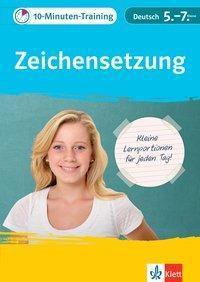 10-Minuten-Training Zeichensetzung Deutsch 5.-7. Klasse