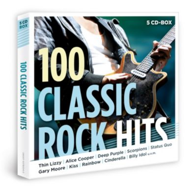 100 Classic Rock Hits (Exklusive 5CD-Box), Various Artists