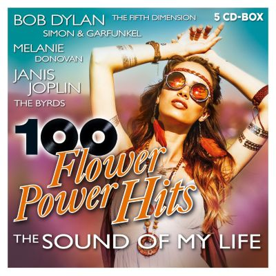 100 Flower Power Hits - The Sound Of My Life (5CD-Box), Diverse Interpreten