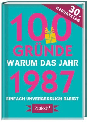 100 Gründe, warum das Jahr 1987 einfach unvergesslich bleibt