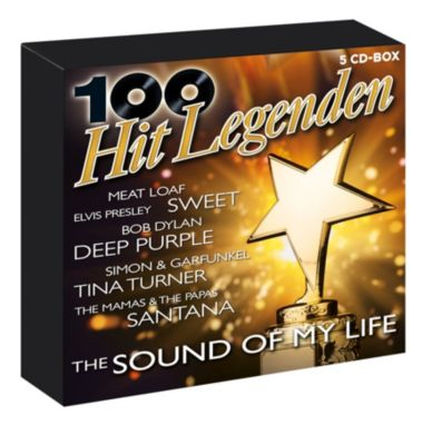 100 Hit-Legenden - The Sound Of My Life (Exklusive 5CD-Box), Diverse Interpreten