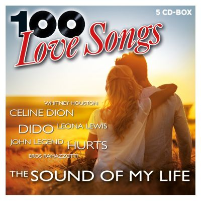 100 Love Songs - The Sound Of My Life (5CD-Box), Various