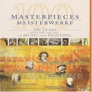 100 Masterpieces (Int.Cov/Pal), 500 Years Of Music+Painting