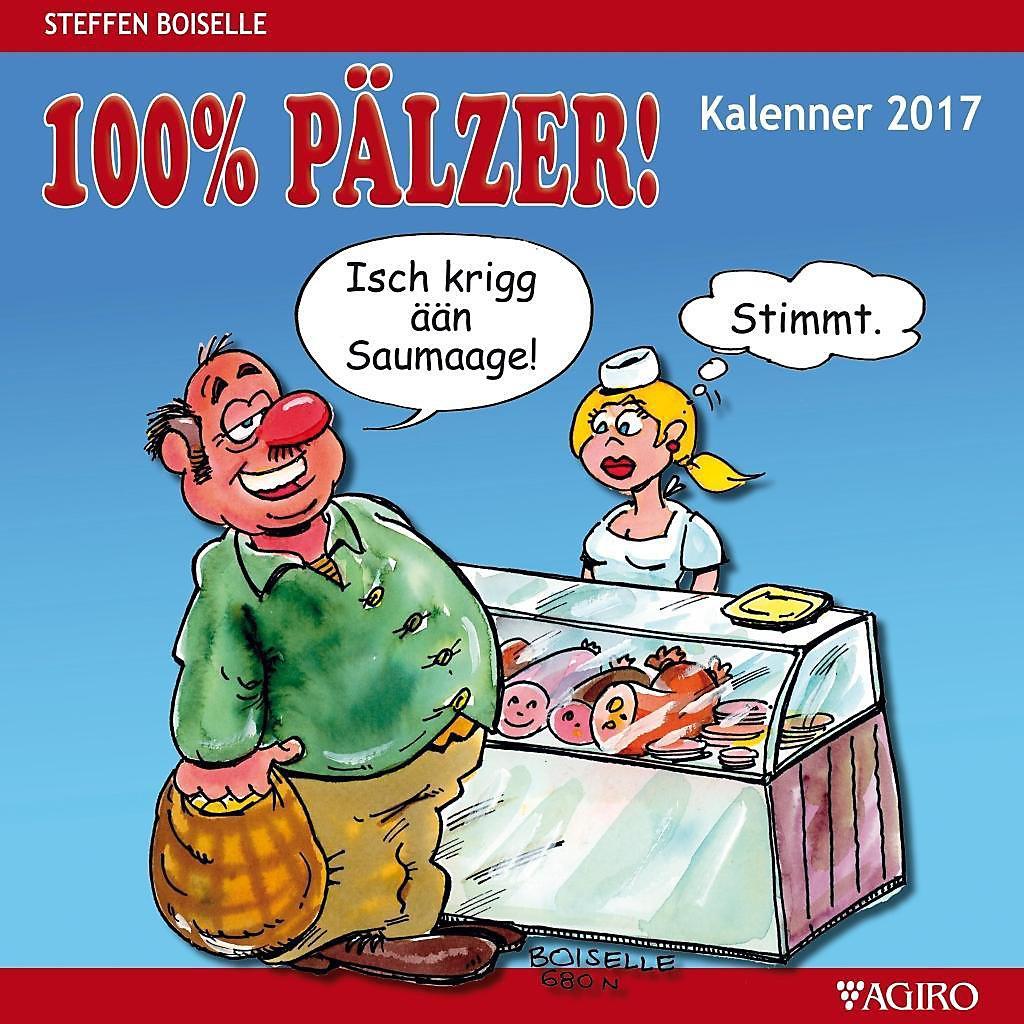 100% PÄLZER! Kalenner 2017