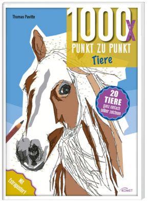 1000x Punkt zu Punkt: Tiere - Thomas Pavitte |