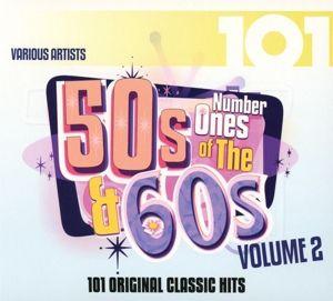 101-Number Ones Of The 50s & 60s Vol.2, Diverse Interpreten