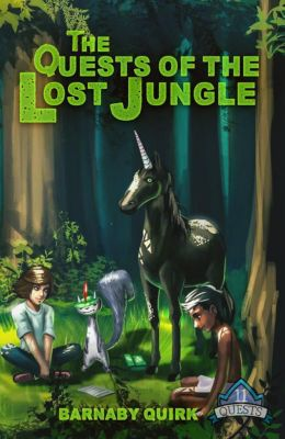 11 Quests: The Quests of the Lost Jungle (11 Quests, #2), Barnaby Quirk