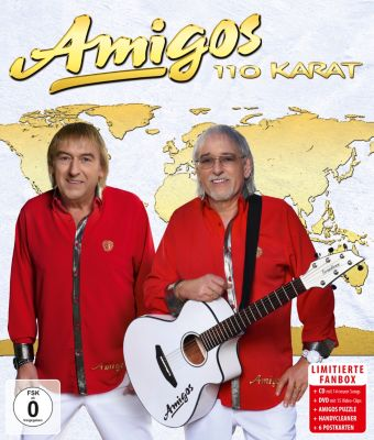 110 Karat (Fanbox, CD+DVD), Amigos