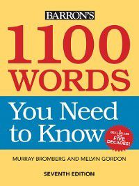 1100 Words You Need to Know, Melvin Gordon, Murray Bromberg