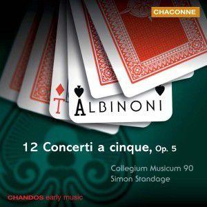 12 Concerti A Cinque Op.5, Simon Standage, Cm90