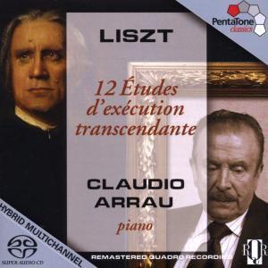 12 Etudes D'Execution Transcendante, Claudio Arrau