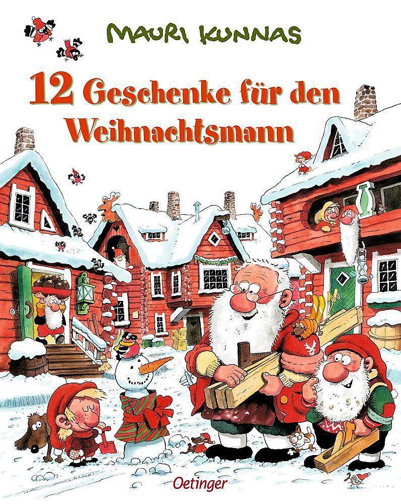 12 Geschenke für den Weihnachtsmann Buch portofrei - Weltbild.de