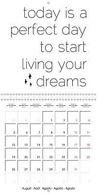 12 Motivational Phrases (Wall Calendar 2019 300 × 300 mm Square) - Produktdetailbild 8