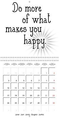 12 Motivational Phrases (Wall Calendar 2019 300 × 300 mm Square) - Produktdetailbild 6