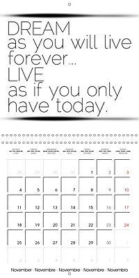 12 Motivational Phrases (Wall Calendar 2019 300 × 300 mm Square) - Produktdetailbild 11