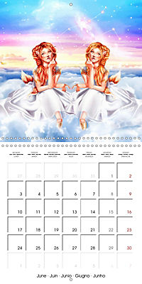 12 Zodiac Ladies (Wall Calendar 2019 300 × 300 mm Square) - Produktdetailbild 6
