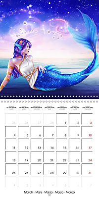12 Zodiac Ladies (Wall Calendar 2019 300 × 300 mm Square) - Produktdetailbild 3