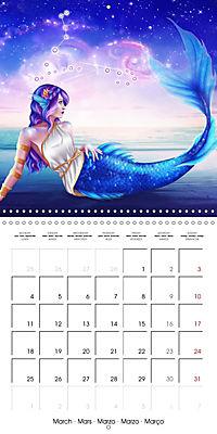 12 Zodiac Ladies (Wall Calendar 2019 300 × 300 mm Square) - Produktdetailbild 3