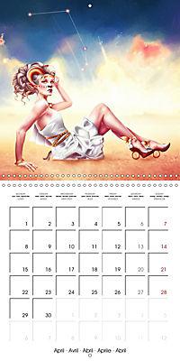12 Zodiac Ladies (Wall Calendar 2019 300 × 300 mm Square) - Produktdetailbild 4