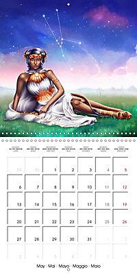 12 Zodiac Ladies (Wall Calendar 2019 300 × 300 mm Square) - Produktdetailbild 5