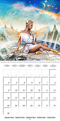12 Zodiac Ladies (Wall Calendar 2019 300 × 300 mm Square) - Produktdetailbild 9